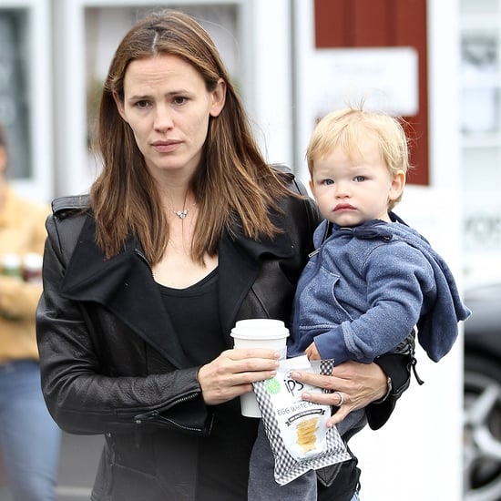Jennifer Garner Takes Seraphina and Sam For Haircuts