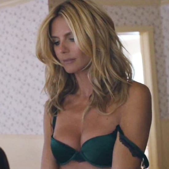 """Heidi Klum Brings the Sexy to Sia's Music Video For """"Fire Meet Gasoline"""""""