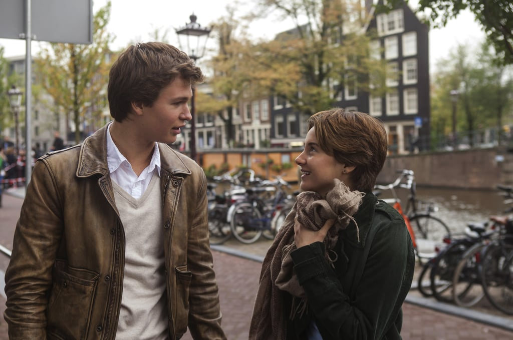 Gus and Hazel on their important trip to Amsterdam.