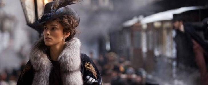49. Anna Karenina: Keira Knightley's romantic 19th-century Russian wardrobe was so covetable, we scooped it all up when a capsule collection inspired by the film hit Banana Republic.  50. Scarface: The film may have been named for Al Pacino's kingpin character, but let's face it: Michelle Pfeiffer's slinky silk dresses . . . Those were the little friends we wanted to say hello to!  Source: Focus Features