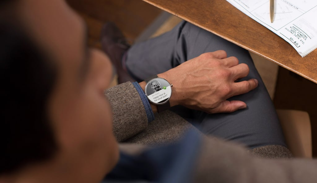 Moto 360 not available until later this Summer. Sad. :(
