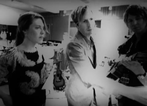 "Music Video of Beck, Feist, Wilco, Jamie Liddell Performing ""Little Hands"" Together"
