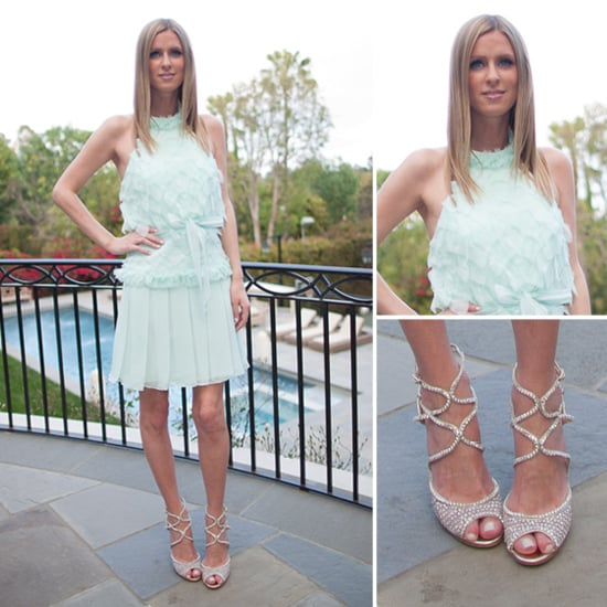 Nicky Inspires a Search For the Top Mint Frocks For Spring Soirees
