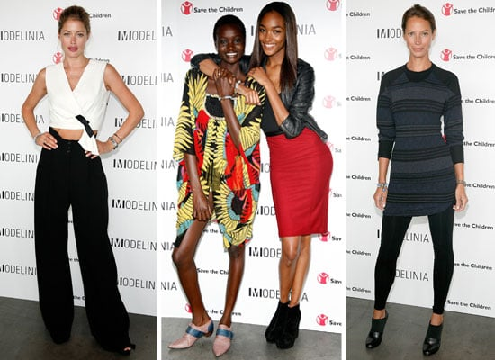 Pictures of Doutzen Kroes, Coco Rocha, Lily Adridge and more Models at Modelinia's Beautiful Friends Forever Bracelet Launch
