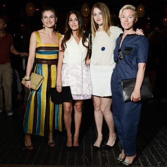 Chloe Malle, Audrey Gelman, Juli Weiner, and Katherine Bernard hit the Young New York bash at New York's Maritime Hotel.