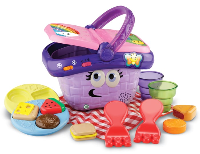 LeapFrog Shapes & Sharing Picnic Basket ($22)