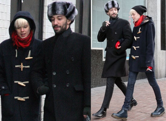 Photos Of Albert Hammond Jr and Agyness Deyn Out And About In New York