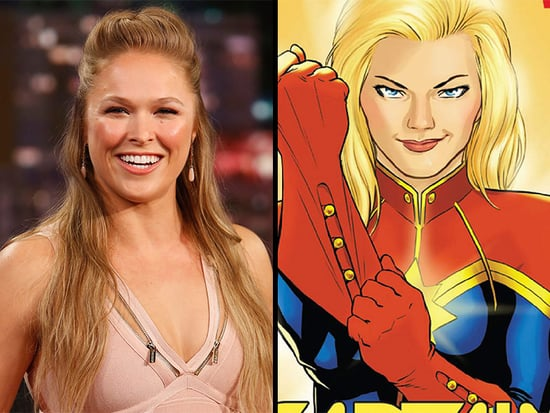 Ronda Rousey as Captain Marvel? Or Is There Another Superhero She Was Born to Play?