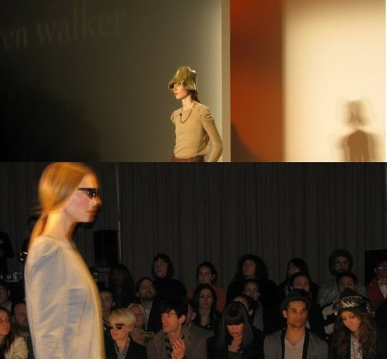 Karen Walker Offered Cool Trousers, Shades, Her Signature Hats