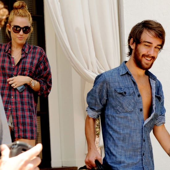 Miley Cyrus Pictures Leaving Miami Hotel