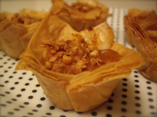 Sugar Shout Out: Pumpkin Pies With a Baklava Twist!