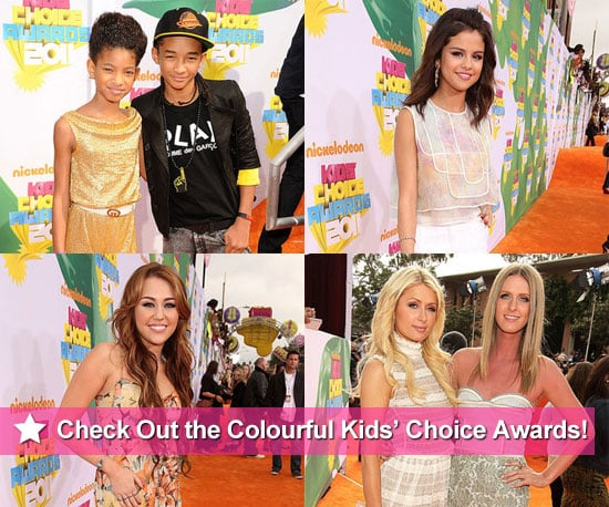 Pictures From 2011 Nickelodeon Kids' Choice Awards Red Carpet With Selena Gomez, Miley Cyrus and More