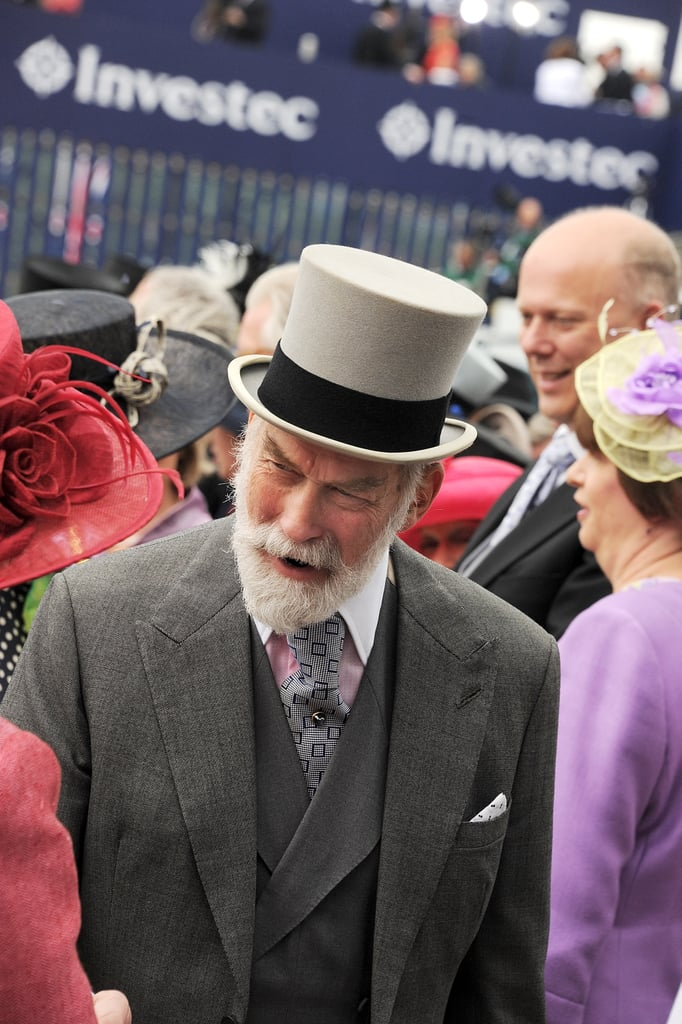 Prince Michael of Kent attended the derby.