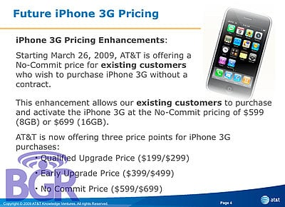 AT&T Announces Commitment-Free iPhone