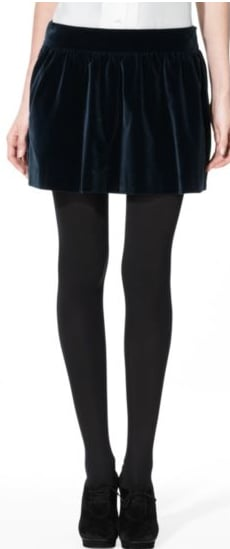 Wear this one now with a fitted denim jacket, then later for the holiday party circuit with tights and a sequined tank.   Theory Waloma Skirt ($225)
