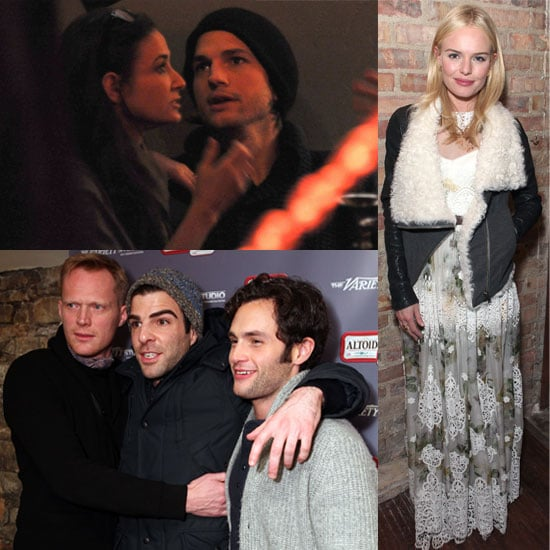 PIctures of Celebrities from Monday at Sundance Film Festival 2011