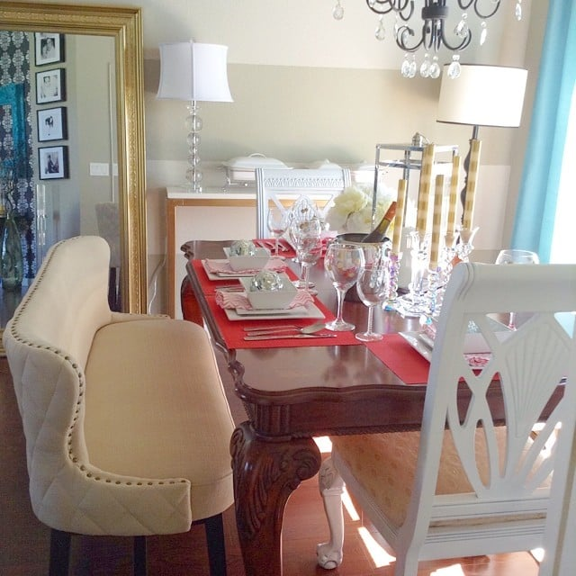 Http Popsugar Com Home Photo Gallery 35748437 Image 35748441 Find Cushioned Bench Breaks Away From Normal Dining