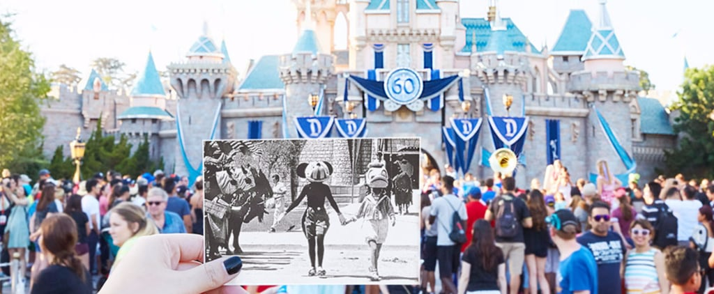 Celebrate Disneyland's 61st Anniversary With These Amazing Then and Now Photos