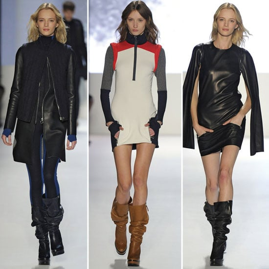 Review and Pictures of Lacoste 2012 Fall New York Fashion Week Runway Show