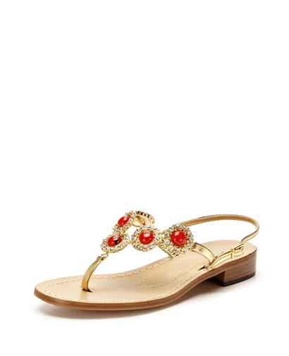 We love the luxurious beading detail on this Canfora of Capri Paula sandal ($299, originally $429).