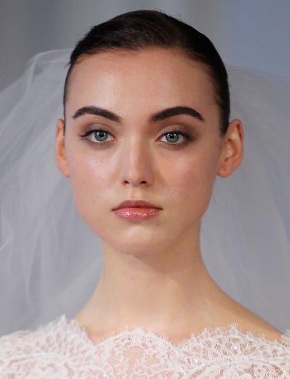 Marchesa Proves That, Yes, Brides Can Wear a Smoky Eye