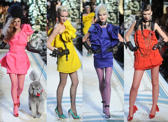 Finally! The Lanvin For H&M Catwalk Show in New York. See All The Lanvin-for-less Looks Here!