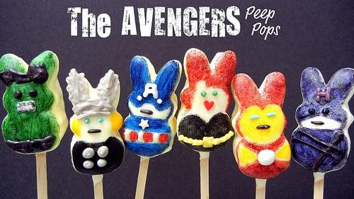 The Avengers Peep Pops