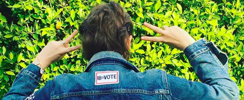 Lena Dunham Shows Hillary Clinton Pride in Your Favorite High School Outfit
