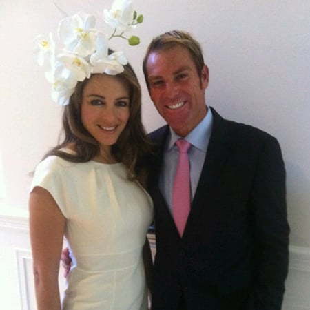 Celebrity Twitter Pictures From 2011 Crown Oaks Day From Elizabeth Hurley, Ruby Rose, Kris Smith and More