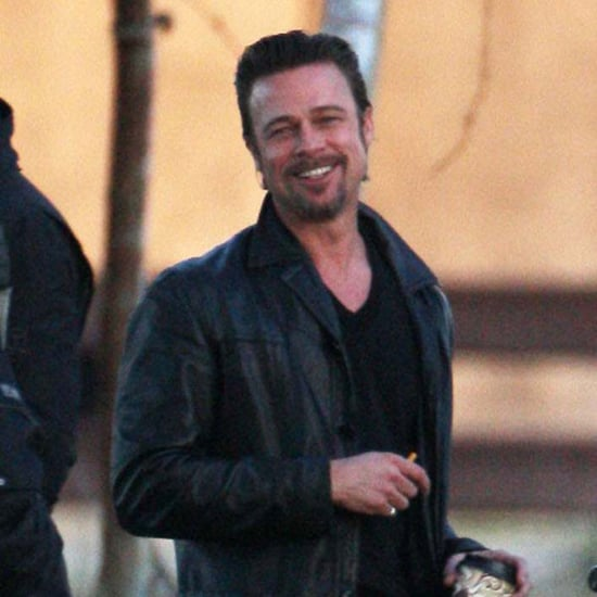 Pictures of Brad Pitt Filming Cogan's Trade in New Orleans 2011-03-11 05:55:00