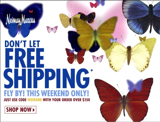 Free Shipping This Weekend at Neiman Marcus