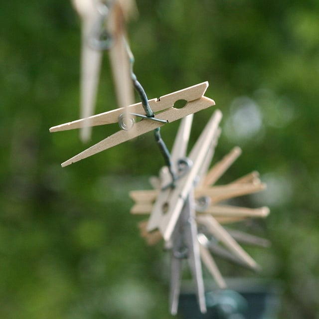 Get Out the Clothespins