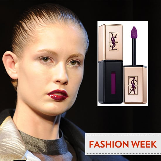YSL Rouge Pur Couture Vernis Backstage at YSL 2012 Paris