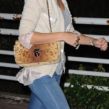 Pictures of Celebrities Wearing the Leopard Trend