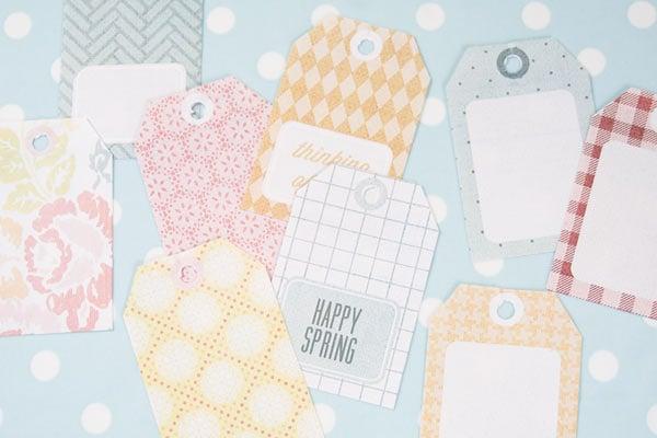 Printable Spring Gift Tags
