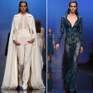 2013 Autumn Winter Paris Fashion Week: Elie Saab Runway