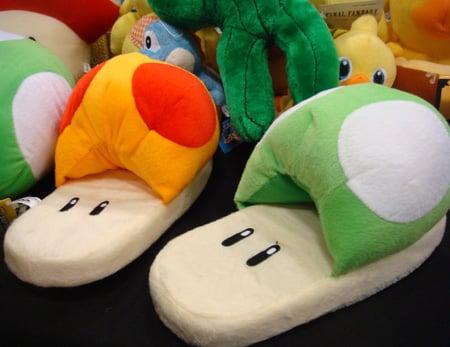 Mushroom Slippers: Totally Geeky or Geek Chic?