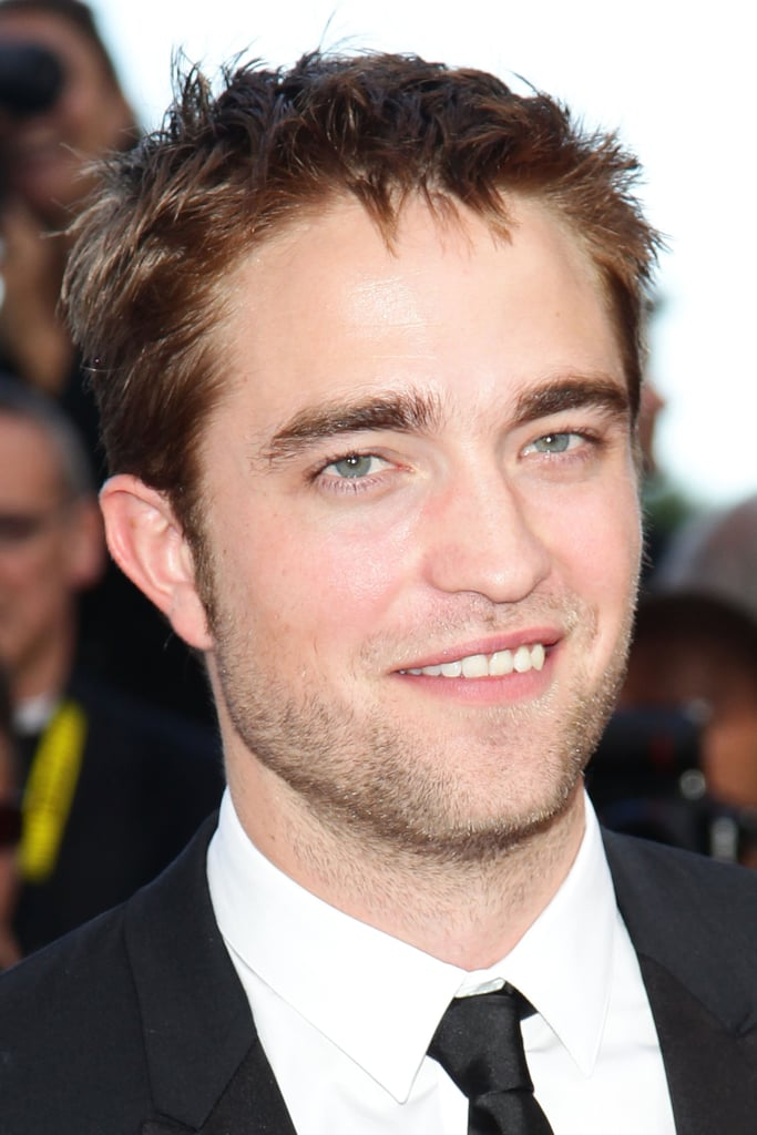 Robert Pattinson gave a big smile the On the Road premiere at the Cannes Film Festival.