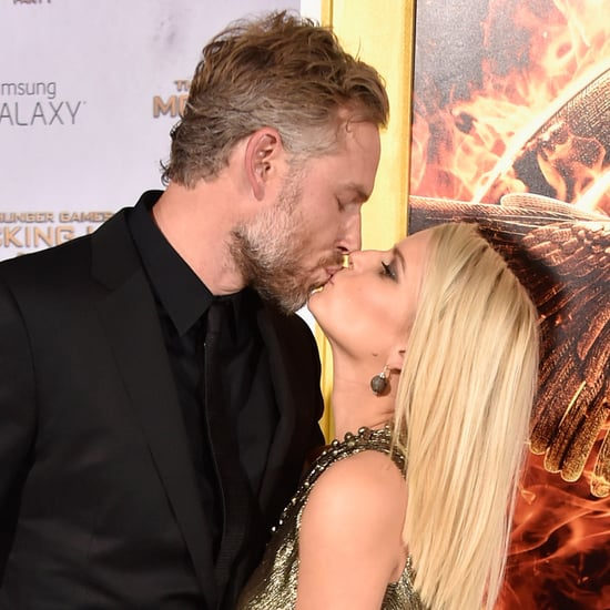 Jessica and Eric Can't Keep Their Hands Off of Each Other at the Mockingjay Premiere