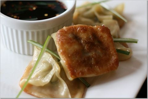 Yummy Link: Pork and Shrimp Pot Stickers
