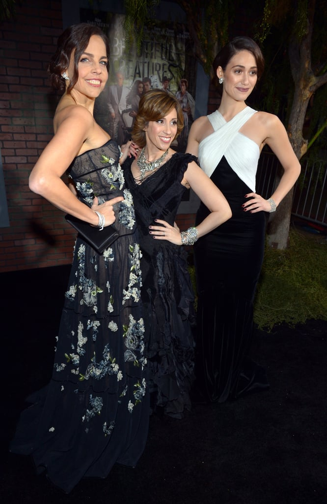 Authors Margaret Stohl and Kim Garcia and Emmy Rossum