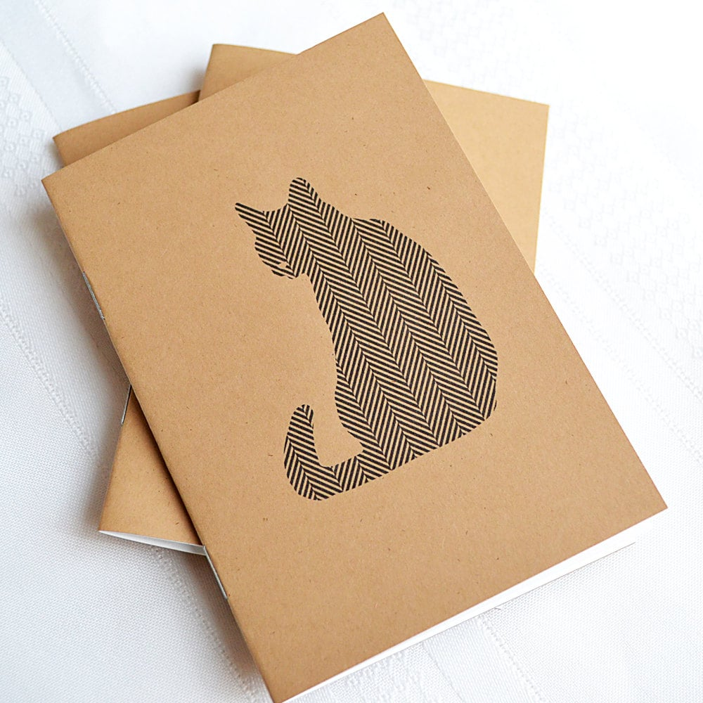 Chic Cat Notebook
