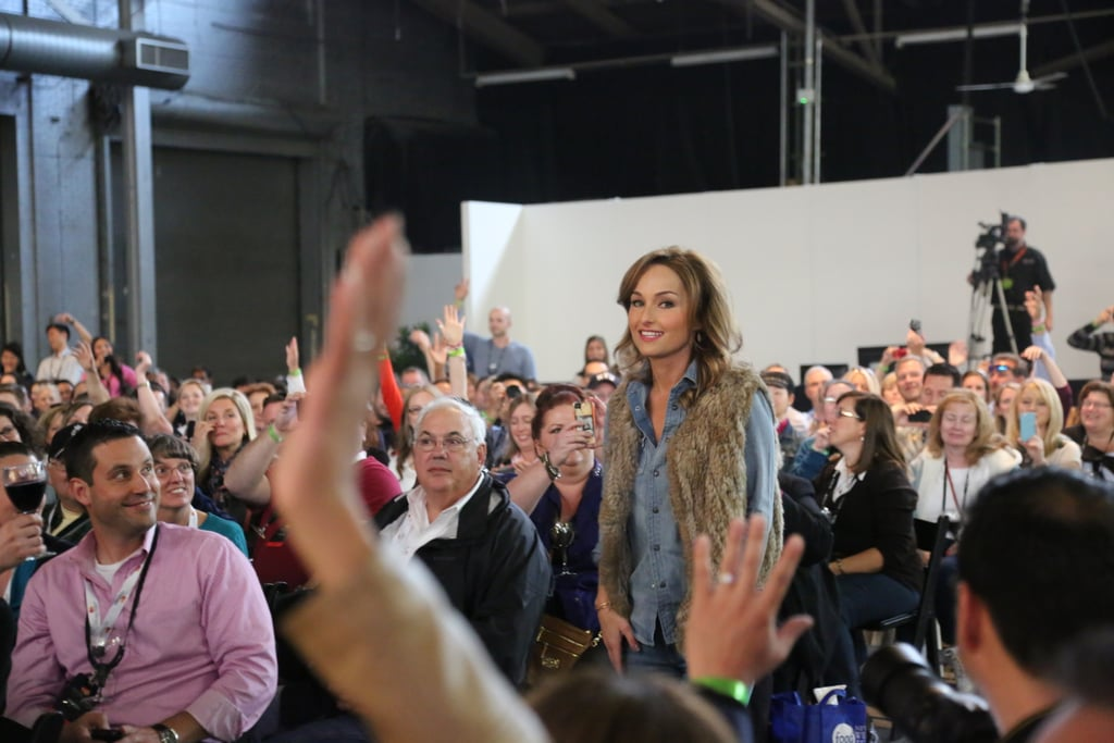Giada De Laurentiis Crowd Hops