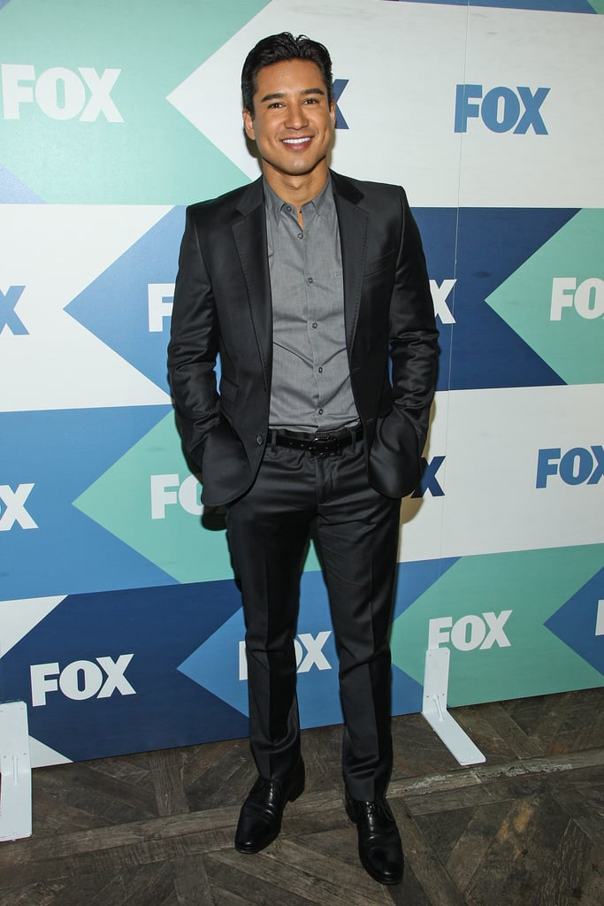 Mario Lopez attended the Fox All-Star Party as part of the Summer TCA Press Tour.
