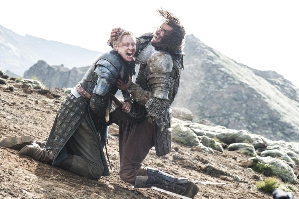 Brienne and The Hound's Rivalry Runs Deep