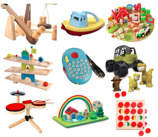 Eco Friendly Toys For Babies and Kids