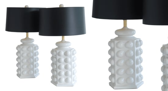 Crave Worthy: Lum A Little Bubbly Anyone? Lamp