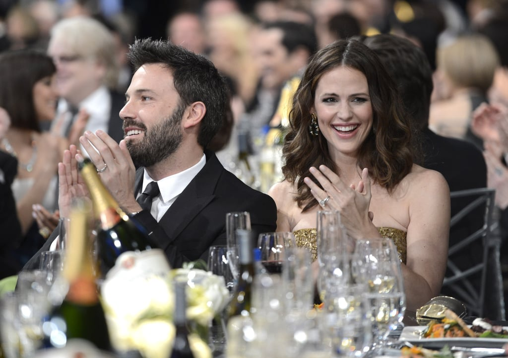 Jennifer Garner and Ben Affleck smiled big during the show.