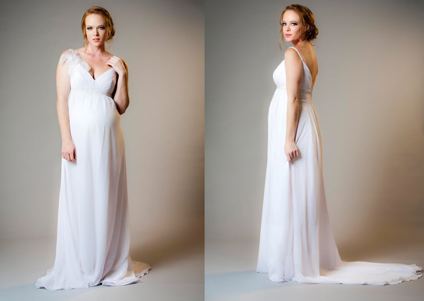 Maternity Bride Samantha Dress