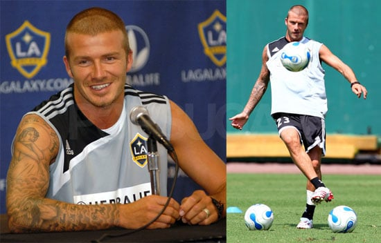 Becks Takes The Field Again!... Maybe